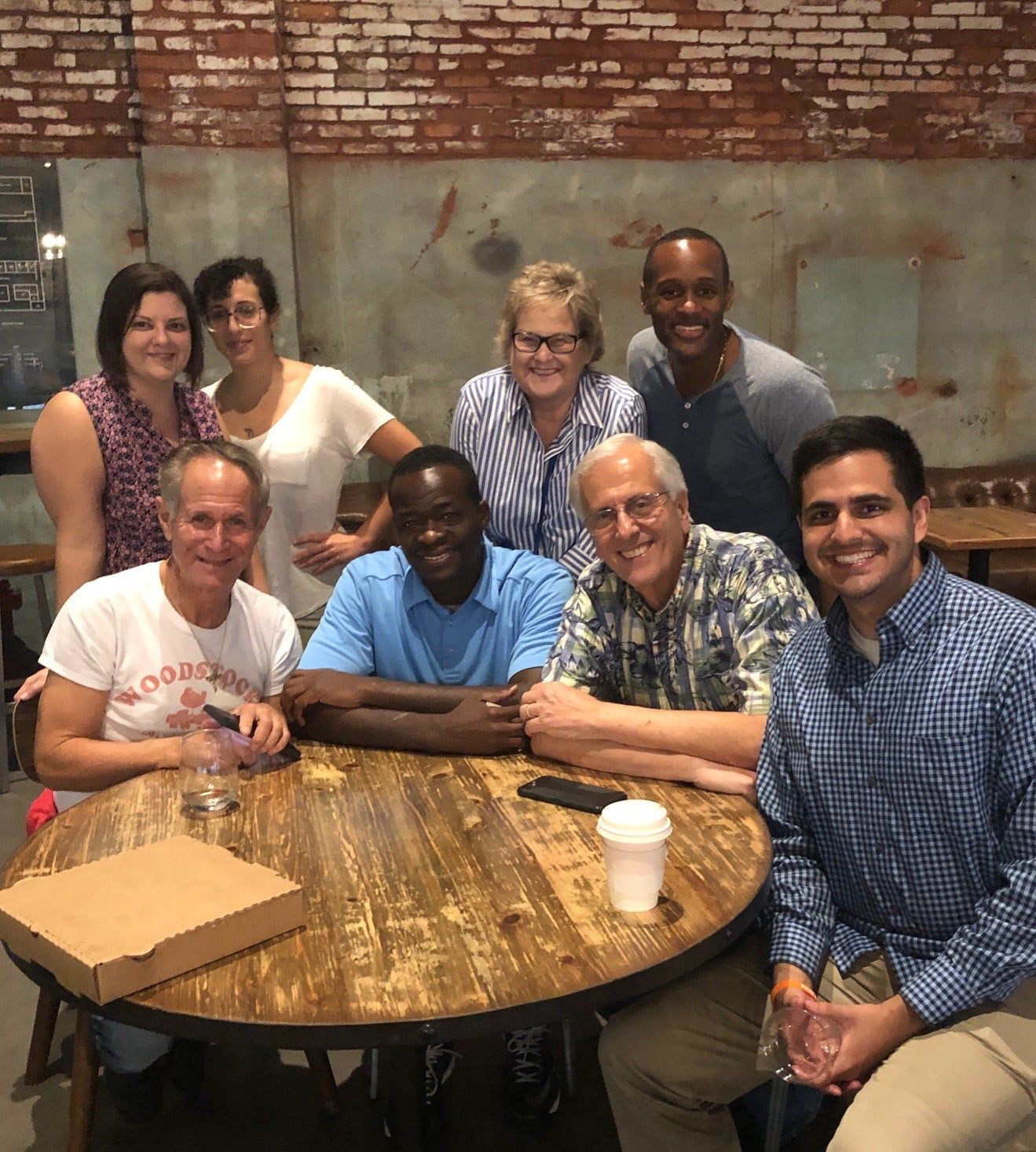 JB Bernstein and Outreach Team in Ybor City